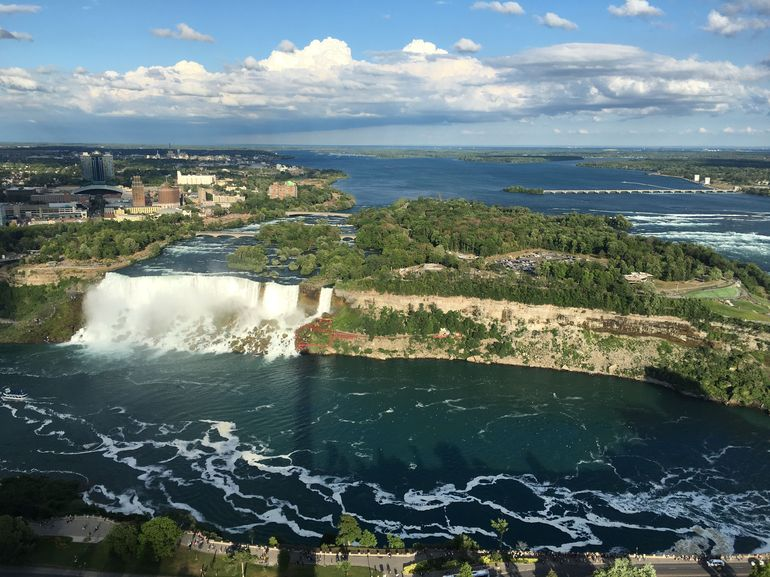 View from Skylon Tower in Canada.