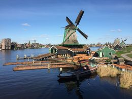 A beautiful day at the Windmills on May 1, 2016 , Jeffrey H - May 2016