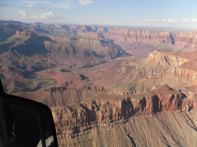�berflug des Canyons - Grand Canyon National Park