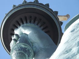It's Lady Liberty, shot from the ground with zoom. , Gary K - November 2015