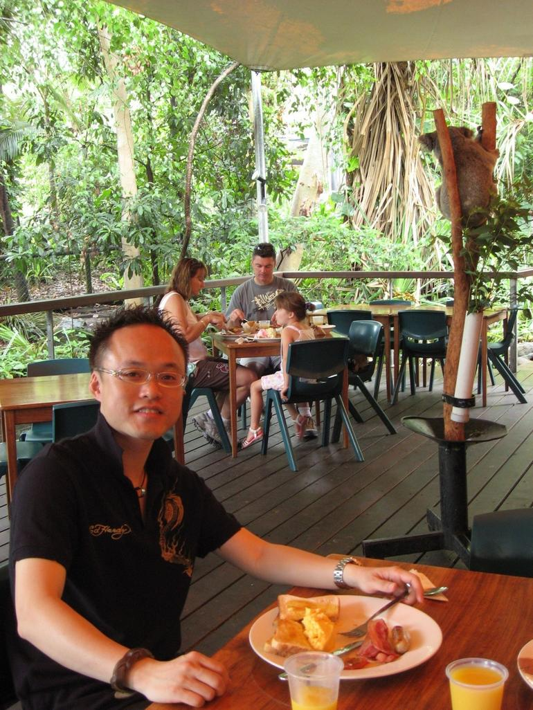 Breakfast at Cairns Tropical Zoo - Cairns & the Tropical North