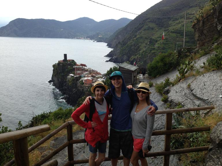 Cinque Terre hike - June 2013 - Florence