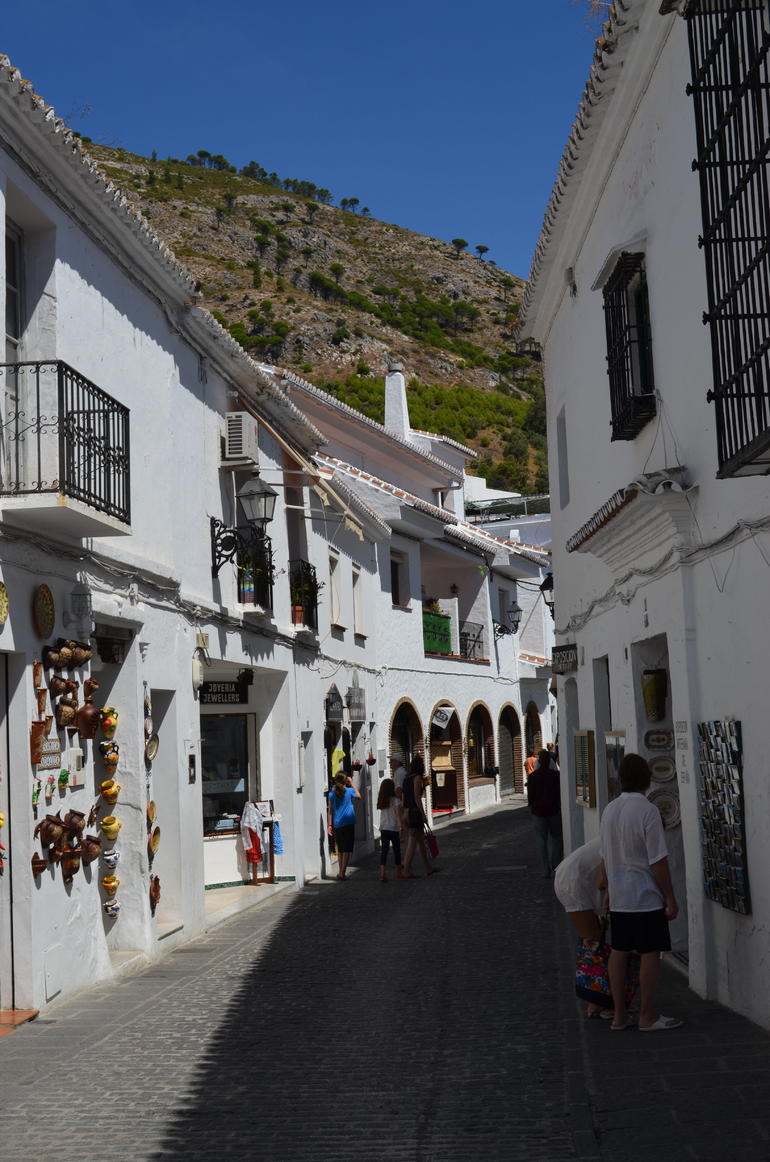 Cobbled streets - Costa del Sol