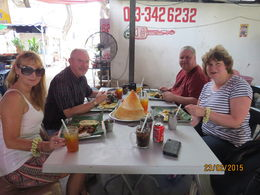 My wife and I with Chris and Sheena. Who were also on the tour. This was our first stop. , deborah e - March 2015