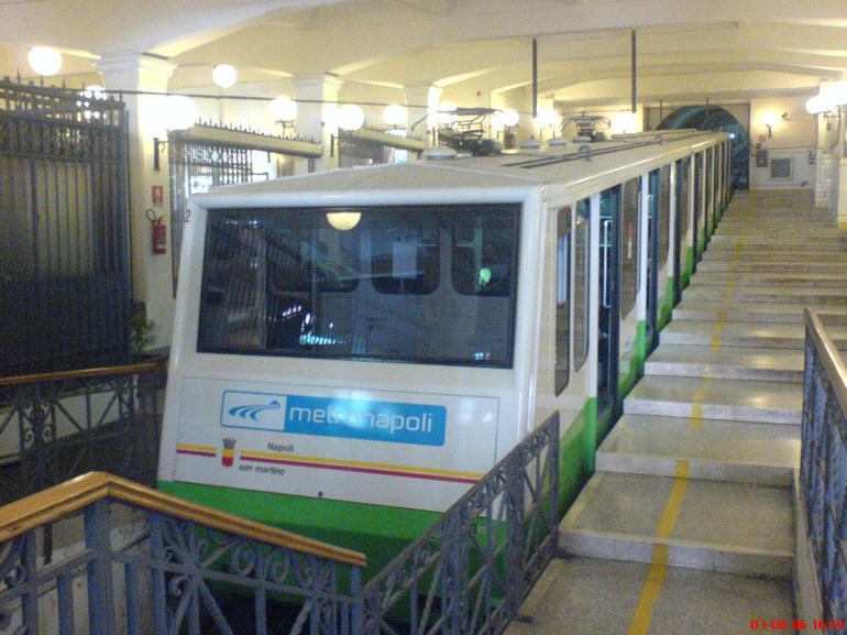Funicular, Naples - Naples