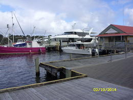 Photo of Tasmania Gordon River Cruise from Strahan Gordon River tour cruiser.