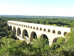 Photo of   Looking down on Pont du Gard