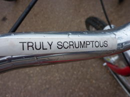 Yes every bike has a name - one lady was lucky enough to be on Ryan Gosling! , Tina M - June 2015