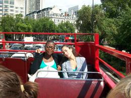 Photo of London Vintage Double Decker London Tour with Thames Cruise On top of the Routemaster