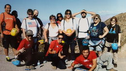 Our Bootleg Canyon Group, Mykie - March 2016