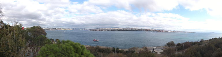 Panorama from Topkapi Palace - Istanbul