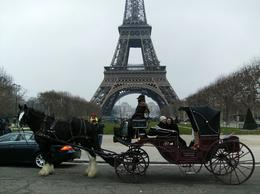 Photo of Paris Romantic Horse and Carriage Ride through Paris Proposal