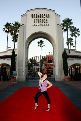 Photo of Los Angeles The VIP Experience at Universal Studios Hollywood Red carpet at the entrance!