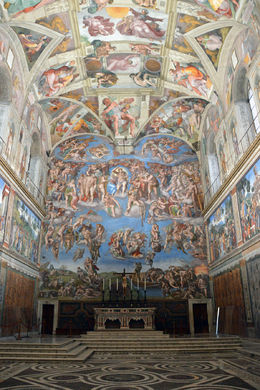 View inside the Sistine Chapel , Todd D - May 2016