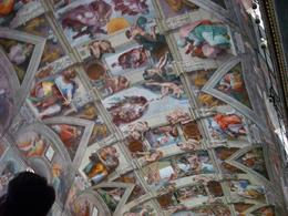 WOW, here it is THE SISTINE CHAPEL - June 2008