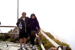 The highest point in the path of the dragon ( mount Pilatus ) , May - October 2012