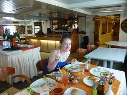 Photo of Athens Hydra, Poros and Egina Luxury Cruise from Athens The lunch spread!