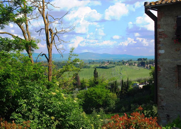 View from San Gimignano - Florence