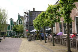 The small village of Zaanse Schans , sueg - May 2014
