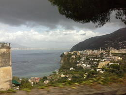 one of the views during the drive to the Amalfi coast. , Pamela P - September 2013