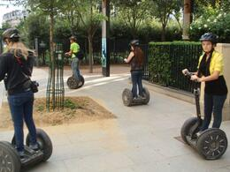 Photo of Paris Paris City Segway Tour Beginning the tour