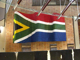 Photo of   Constitution Hill: South African flag