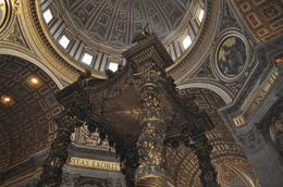 Photo of Rome Skip the Line: Vatican Museums Walking Tour including Sistine Chapel, Raphael's Rooms and St Peter's Inside St.Peters Basilica