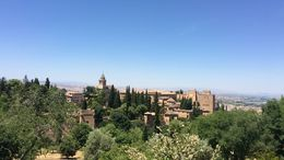 La Alhambra city view - Granada , Chandan M - June 2016