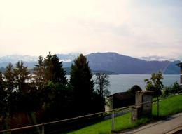 Lake Lucerne with the Mountains behind., Thomas W - June 2010