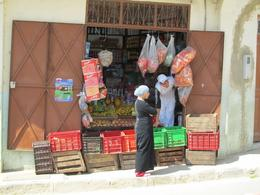 shopkeepers waiting for customers to come - June 2010