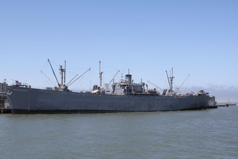 military ship - San Francisco