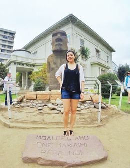 Photo of Santiago Vina Del Mar and Valparaiso Day Trip from Santiago Moai Statue from Easter Island