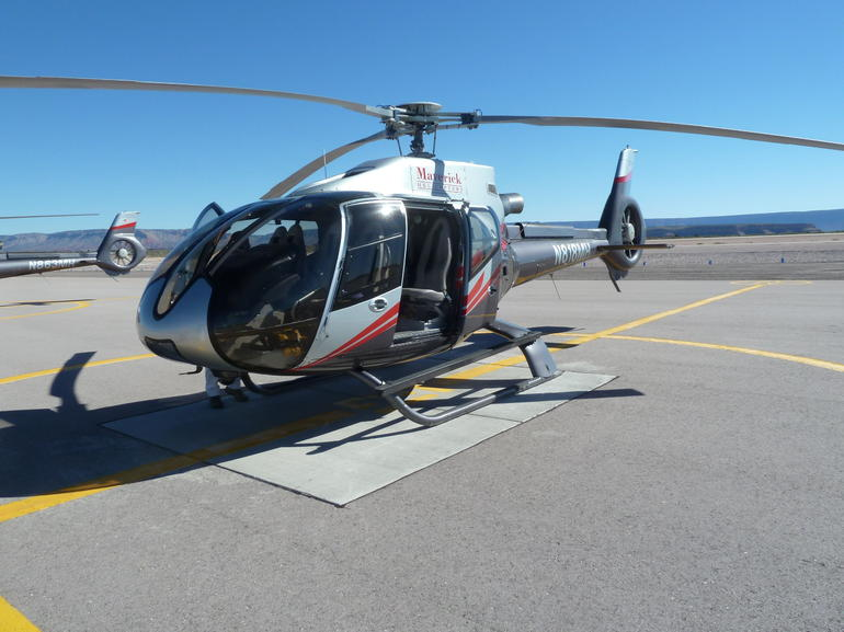 Our Helicopter we travelled in. - Las Vegas