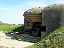 Photo of Bayeux Normandy Beaches Half-Day Trip from Bayeux Remaining German bunker