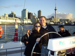 "Photo of Auckland Auckland Harbour Dinner Cruise Sailing the ""Courageous"" - Auckland Harbor Dinner Cruise"
