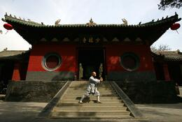 Photo of Xian 2-Day Private Tour of Luoyang including Shaolin Temple, Longmen Grottoes and White Horse Temple from Xi'an Shaolin Temple