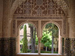 Arches in Alhambra, Laura All Over - August 2014