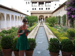 In Generalife, Laura All Over - August 2014