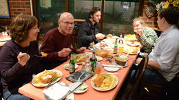 A fish and chips dinner! - February 2012