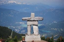 Photo of Vancouver Vancouver to Whistler by Train Rail Tour Top of Whistler Mountain