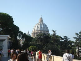 Photo of Rome Skip the Line: Vatican Museums Small-Group Tour including Sistine Chapel and St Peter's Basilica View of St. Peters