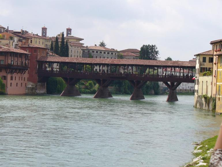 Bassano & Grappa Covered Bridge - Venice
