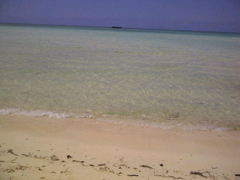 Beach across from Lucayan National Park - Freeport