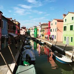 Burano colorful houses , Natascia A - June 2015
