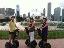Kelly, Ivy and Doris enjoying a site-seeing weekend in Chicago! , Doris F - August 2013