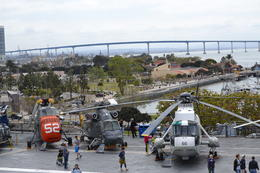 Photo of San Diego USS Midway Museum Flight Deck