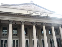 Front of the Teatro Solis., Bandit - August 2012