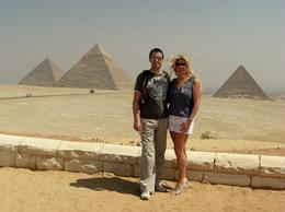 The three pyramids at Giza - just amazing! - March 2008