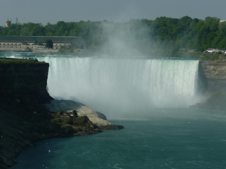 Horseshoe Falls from elevated platform - Niagara Falls & Around