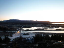 Just one of the many outstanding views around þingvellir , tonnic - January 2011